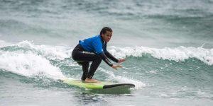 Beginner Surfer Girl