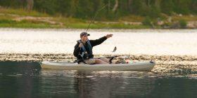 Fishing at Lake Seminole with my Kayak