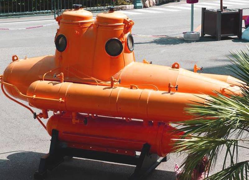 Orange Personal Submarine