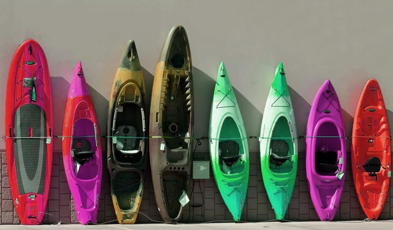 Sit-In And Sit-On-Top Kayaks