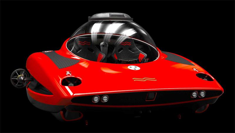 Uboatworx HiPer personal submarine
