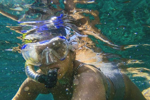 young girl's best snorkel mask