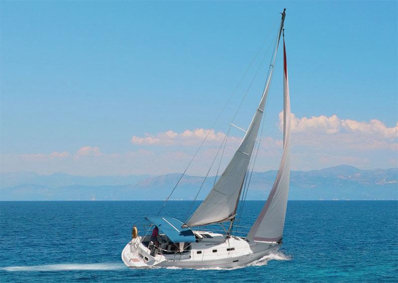 sailboat near coast