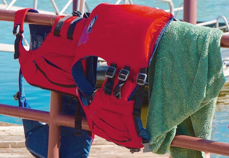 use a life vest